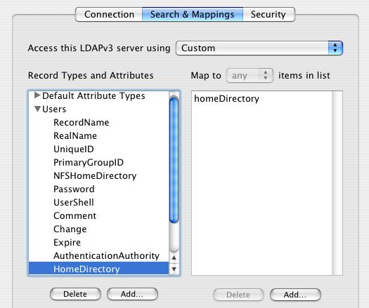 LDAPv3 configuration